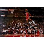 ショッピングDUNK マイケル・ジョーダン ポスター/Michael Jordan Dunk from the foul line フレームなし