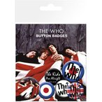 【送料¥216〜】 ザ・フー カンバッチセット The Who Lyrics and Logos(131108)