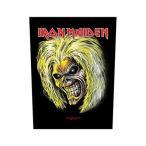 【送料¥216〜】 【ロンドン直輸入オフィシャルグッズ】<br>アイアン・メイデン ジャイアントパッチ Iron Maiden Back Patch: Killers / Eddie(140314)