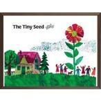 エリック・カール (Eric Carle) はらぺこあおむし ポスター 木製フレームセット The Tiny Sead!