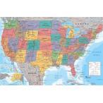 ����ꥫ�罰���Ͽ�  �ݥ����� USA Map(130829)