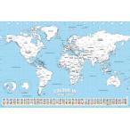 �����Ͽޡ����Ͽ� ���ɤꡡ�ݥ��������ʱѸ�ɽ���ˡ�World Map Colour In��160701��
