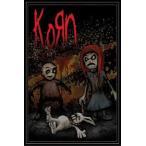 コーン ポスターフレームセット KORN - DEAD BUNNY(130628)