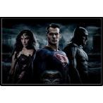 バットマン vs スーパーマン ジャスティスの誕生 ポスターフレームセット Batman V Superman (Trio)(160204)