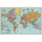 世界地図 ポスター Stanfords General Map Of The World (Colour) (180524)