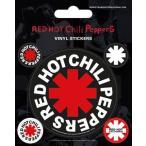【送料¥216〜】 【ロンドン直輸入オフィシャルグッズ】レッド・ホット・チリペッパーズ ステッカー Red Hot Chili Peppers