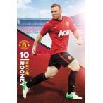 マンチェスター・ユナイテッド ウェイン・マーク・ルーニー ポスター Manchester United Rooney