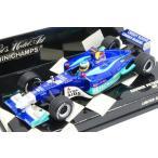 ミニチャンプス 1/43 ザウバー ペトロナス C21 No.7 2002 F1 アメリカGP N.ハイドフェルド 完成品ミニカー 400020107