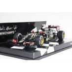 ミニチャンプス 1/43 ロータスF1チーム ロータス E23 ハイブリッド R.グロージャン 2015 ベルギーGP 3位入賞 完成品ミニカー 417150108