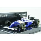 ミニチャンプス 1/43 ウィリアムズ ルノー FW16 1994 F1 スペインGP D.クルサード 完成品ミニカー 417940802