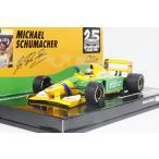 ミニチャンプス 1/43 ベネトン フォード B192 No.19 1992 F1 ベルギーGP ウイナー M.シューマッハ 完成品ミニカー 517924318