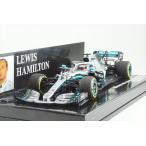 ミニチャンプス 1/43 メルセデス W10 EQ パワー+ メルセデス-AMG ペトロナス F1チーム 2019 L.ハミルトン 完成品ミニカー 410190044
