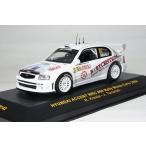 ミニカー イクソ 1/43 ヒュンダイ アクセント WRC 2004年 モンテカルロラリー #69 R.Kresta/J.Tomanek(RAM142)