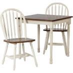 アンティーク ダイニングテーブルセット 正方形テーブルおしゃれ インテリア ダイニングテーブル うちカフェ テーブル マキアートダイニング3点セット