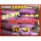 五郎島金時 さつまいも 5kg おやつに ほくほく石川県 産地直送 送料無料