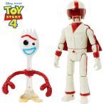 トイ・ストーリー4 フォーキー & デュ―ク・カブーン フィギュア 箱入り ディズニー ピクサー Disney Pixar Toy Story 4 Forky & Duke Caboom Figures