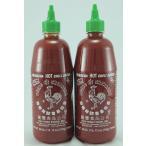 HuyFong-SrirachaHotChiliSauce ホットチリソース 2本 (740mlx2)