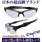 2万2,000円→60%OFF 送料無料 AGAIN調光サングラス 調光レンズ マットブラック加工 日本TOP級ブランドDNAメーカー共同開発 釣り ゴルフ スポーツに