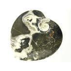 アンモナイト化石皿/浄化用器ハート型/1点もの