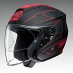 ショッピングFORCE ショウエイ  J-FORCE 4 MODERNO (ジェイ-フォース フォー モデルノ) TC-1 (RED/BLACK) マットカラー L (59cm) ジェットヘルメット