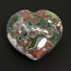 パワーストーン 天然石  原石 1点もの 自然が造るモダンアート オーシャンジャスパー ハートタンブルA