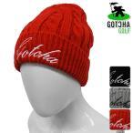 帽子系 63GG8701 2016年秋冬モデル GOTCHA GOLF-ガッチャゴルフ- MENS (メンズ) 裏フリース ニット帽 帽子 ネックウォーマー