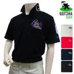 半袖シャツ系 72GG1200 NEW春夏モデル GOTCHA GOLF-ガッチャゴルフ- MENS (メンズ) ベーシック スムース ポロシャツ