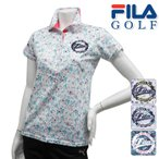 半袖シャツ系 756-604 春夏モデル FILA GOLF-フィラゴルフ- LADYS(レディース) 半袖ポロシャツ トップス ウエア M,L,LLサイズ 16 ゴルフ用品