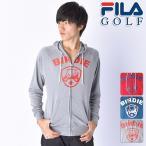 スウェット系 785-440 2015年秋冬モデル FILA GOLF-フィラゴルフ- MENS (メンズ) フルジップ 長袖パーカー トップス ウエア M,L,LLサイズ ゴルフ用品