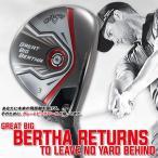 2015年モデル Callaway-キャロウェイ- GREAT BIG BERTHA-グレートビッグバーサ フェアウェイウッド(BIG BERTHAシャフト) ゴルフクラブ