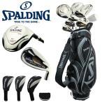 ショッピングゴルフクラブ スポルディング SPALDING ゴルフクラブセット ゴルフセット メンズ 初心者 フルセット ツアープログラインド NP-02 10本セット キャディバッグ付き