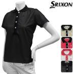 半袖シャツ系 SLP3201 春夏モデル DUNLOP-ダンロップ- SRIXON-スリクソン- LADYS (レディース) 半袖ポロシャツ トップス ウエア M,L,LLサイズ ゴルフ用品