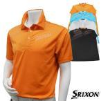 半袖シャツ系 SMP4122 春夏モデル DUNLOP-ダンロップ- SRIXON-スリクソン- MENS SMP4122 (メンズ) 半袖シャツ