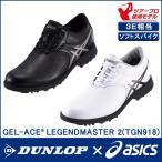 アシックス ASICS ゴルフシューズ メンズ 紐靴 3E 幅広 おしゃれ 人気 ゲルエース レジェンドマスター2 TGN918 ツアープロ使用