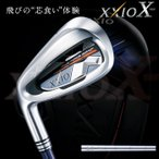 ショッピングゼクシオ ゼクシオ10 XXIO10 レフティ アイアンセット ゴルフクラブ 左利き 左用 NSプロ スチールシャフト レフトハンドモデル 5本セット