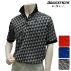 半袖シャツ系 ZGM03A 春夏モデル ブリヂストン-BRIDGESTONE- MENS (メンズ) 半袖ポロシャツ 15 トップス ウエア M,L,LLサイズ ゴルフ用品