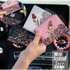 カードケース ラインストーン 薄型 財布 ポストカード スリム レディース おしゃれ ポイントカードケース 可愛い 大人 名刺入れ 合皮 レザー