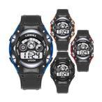COOBOS デジタル 腕時計 ブランド LED ディスプレイ 30M 防水 ランニングウォッチ スポーツウォッチ