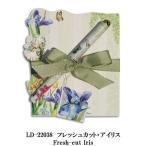 リゾムデザイン社製 ダイカットノートパッドS フレッシュカット・アイリス Lissom Design diecut NotePad S Fresh-cut Iris