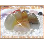 【50%OFF!】天然石パワーストーンタンブルカーネリアン(紅玉髄)【褐色系・一般】SLサイズ×1個PowerStone/GemStoneCarnel