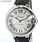 ショッピングカルティエ カルティエ CARTIER メンズ 腕時計 バロンブルー 42mm W69016Z4 LM 自動巻き アリゲーター 2年保証 【アウトレット訳あり】