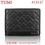 TUMI トゥミ レザー 財布 二つ折り 札入れ タイコン TICON 13147 DT