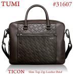 TUMI トゥミ レザー ビジネスバッグ/ブリーフ  タイコン TICON 31607 DBT ブラウン