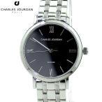 シャルルジョルダン 腕時計 レディース 209.22.2 SILK 30mm ブラック ステンレス サファイヤガラス CHARLES JOURDAN