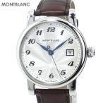 MONTBLANC モンブラン 腕時計 スター デイト オートマティック 107315 メンズ ブラウン 新品限定1点