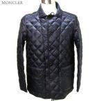 【アウトレット訳あり】MONCLER モンクレール  ダウンコート/ハーフジャケット メンズ  ROUALD 黒ロゴ サイズ2/M ネイビー 軽量