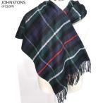 Johnstons ジョンストンズ カシミア ストール WA000056 KU0309 Mackenzie/ネイビー 大判 195cm×74cm