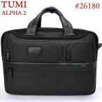 TUMI トゥミ  ビジネスバッグ/リュックサック 3way スリーウェイ・ブリーフケース ALPHA2 26180 D2  ブラック