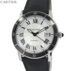 カルティエ CARTIER メンズ 腕時計 ロンド クロワジエール 42mm WSRN0002 自動巻き 2年保証 アウトレット未使用