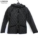 アウトレット在庫処分品  ロンドントラディション キルティングジャケット ショート レディース  Black/ブラック 英国製